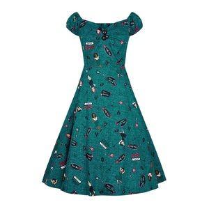 Dolores Vegas Vamp Doll Swing Dress